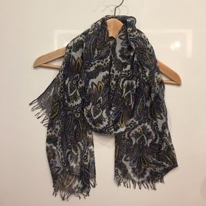 J.Crew Paisley Patterned Scarf